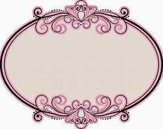 Fiesta de Princesas: Marcos, Toppers o Etiquetas para Imprimir...