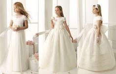 Vestidos Corte Princesa para Comunión - Para Más Información Ingresa en: http://vestidoscortosdemoda.com/vestidos-corte-princesa-para-comunion/