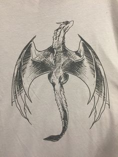 Dragon Design on that T-shirt in Target