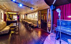 The Red Room - above KGB bar in East Village 85 E 4th St, 3rd Fl (between 2nd and Bowery),