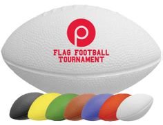 11 and 7 Mini Footballs are made of a solid foam (Nerf® like). They come in seven great colors. Can be custom imprint with a Bright, bold messages to help promote team spirit for your company, schools or booster groups. Flag Football Party, Football Party Favors, Football Banquet, Football Cheer, Football Tournament, Football Birthday, Boy Birthday, Football Humor, Nerf