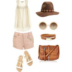 Summer Neutrals Outfit inspiration for a music festival this summer!