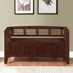 laurent entryway storage bench