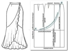Sewing drawing pattern drafting ideas for 2019 Sewing Dress, Sewing Clothes, Diy Clothes, Sewing Patterns Free, Free Sewing, Clothing Patterns, Free Pattern, Sewing Hacks, Sewing Tutorials