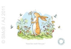 Guess How Much I Love You - Anita Jeram #bunny, #illustration