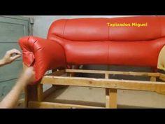como tapizar asiento de silla de comedor paso a paso, - YouTube