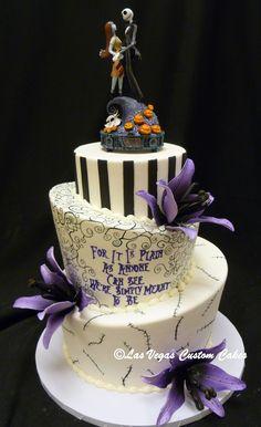 'Anyone Can See' wedding cake made by Las Vegas Custom Cakes