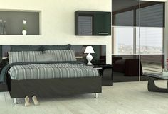Wren Black Gloss | Bedroom-compare.com | Independent Bedroom Price Comparisons