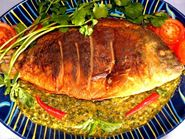 Thai Drunken Fish  We use fish fillets for this one.  The SAUCE is the real star of this recipe!