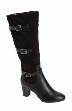 576ace505953 Bella Vita Talina II Belted Knee High Boot (Women)