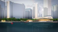 On Friday the 10th of April, Waterfront Toronto, in partnership with the City of Toronto announced KPMB Architects / West 8 / Greenberg Consultants as the winner of the Innovative Design Competition for the Jack Layton Ferry Terminal and Harbour Square Park  http://www.west8.com/images/dbase/7369_large.jpg