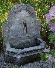 wandbrunnen garten with regard to household Water Features, Garden Pots, Household, Shed, House Design, Outdoor, Furniture, Play, Home Decor