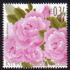 Cyprus Stamps SG 1243 2011 Aromatic Flowers Roses - MINT