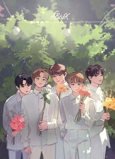 Got7 Yugyeom, Cha Eun Woo, Astro Eunwoo, Mamamoo, Chibi, Oppa Gangnam Style, Astro Wallpaper, Young K, Kpop Drawings