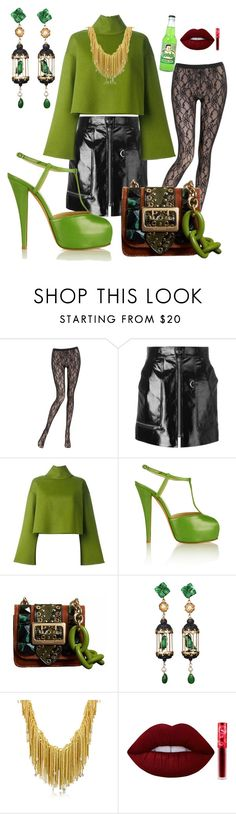 """groovy in green"" by jennross76 ❤ liked on Polyvore featuring La Perla, Isabel Marant, Bally, Giuseppe Zanotti, Burberry, Of Rare Origin, Orlando Orlandini and Lime Crime"
