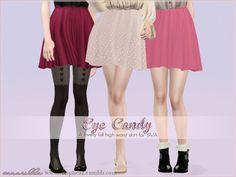 Eye Candy full high waist skirt by Sim-pli Caz - Sims 3 Downloads CC Caboodle