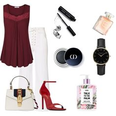 A fashion look from June 2017 by pinky-chen featuring A.L.C., Yves Saint Laurent, Gucci, ROSEFIELD and Bobbi Brown Cosmetics