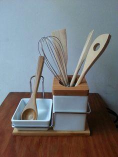 Set de utensilios cerámica