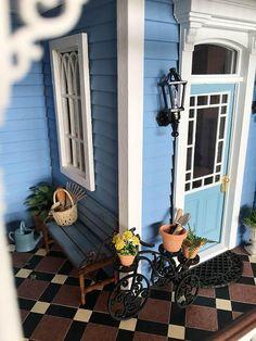 Fairfield Dollhouse 1:24 scale - Porch