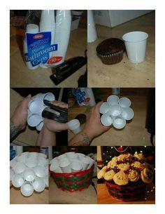 Buquê de Cupcakes!
