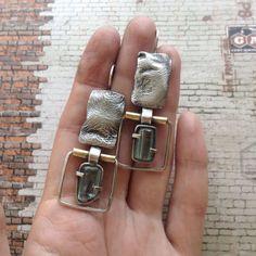 """Купить Серьги с бериллами """"Мерцание"""" - крупные серьги с бериллом, серьги с бериллом, берилл серебро, Екатеринбург"""