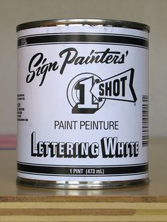 Sign Painters' One Shot