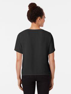 """Aqua Blue Geometric Leggings Shirt Dress"" Chiffon Top by samadhithreads Belle Lingerie, Shirts For Leggings, Shiba Inu, Tshirt Colors, Simple Designs, Female Models, Chiffon Tops, Classic T Shirts, Shirts"