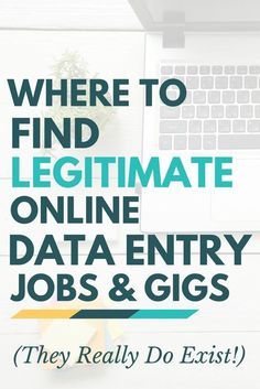 Not all online data entry jobs are scams -- but you should be careful where you apply! Learn more about your options and where to find legitimate online data entry jobs & gigs. by workfromhomehap Read Earn Money From Home, Earn Money Online, Way To Make Money, Online Income, Online Data Entry Jobs, Work From Home Opportunities, Business Opportunities, Busy At Work, Education