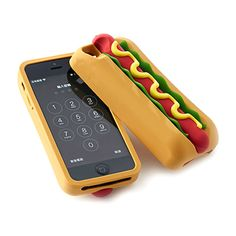 Hotdog Silicone Case from Bling For Nerds