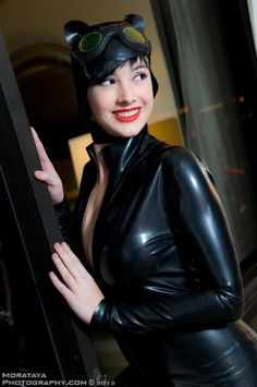 Alouette Cosplay als Catwoman
