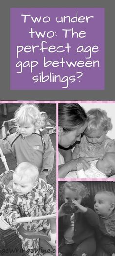 Two under two: The perfect age gap between siblings? What is the best age gap for children? Gentle Parenting, Parenting Teens, Parenting Advice, Parenting Humour, Parenting Classes, Best Blogs, Mom Advice, Raising Kids, Siblings