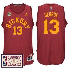 Indiana Pacers  24 Paul George HICKORY Red Swingman Alternate Jersey Air  Jordan 056a52215