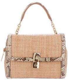 Dolce   Gabbana Jute Tote in Beige (brown)  a042dd9060971