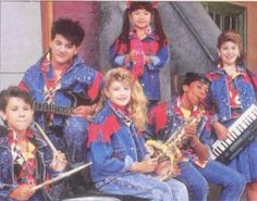Admit it, you loved Kids Incorporated. It was a Saturday morning ritual...along with GLOW (shame on mom and dad for letting me watch that!) Yes, that blond w/the tambourine is Fergie.