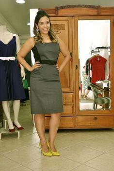 _DSC0606 Office Dresses, Dresses For Work, Dress Work, Curvy Girl Fashion, Womens Fashion, Long Bob, Brigitte Bardot, Indian Wear, Formal