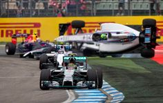 Another view of Massa's Crash
