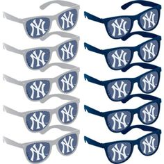 New York Yankees Printed Glasses 10ct - Party City