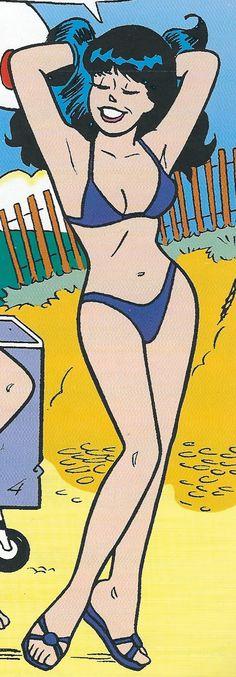Sexy Ladies of Archie Comics - Top-Trends Female Cartoon, Cartoon Pics, Cartoon Art, Female Art, Class Comics, Fun Comics, Archie Comics Veronica, Archie Comic Books, Beste Comics