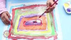 Nuestro Mundo Creativo - YouTube - Pintura sobre papel de aluminio Plastic Cutting Board, Videos, Youtube, Paper Envelopes, Creativity, Pintura, Video Clip