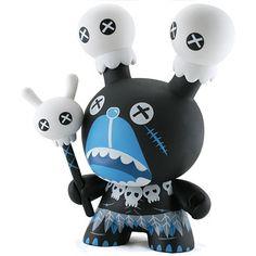 Zulu Mong  by: ilovedust & Kidrobot