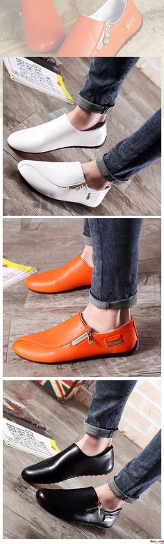 US$24.39+ Free Shipping. 3 colors available. Men loafers, casual comfortable shoes, oxford shoes, boots, Fashion and chic, casual shoes, men's flats, oxford boots,leather short boots,loafers, casual oxford shoes,slip on men's style, chic style, fashion