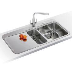 Franke SINOS SNX251 LHD - Sinos 1.5 Bowl Sink Left Hand Drainer | Appliance City
