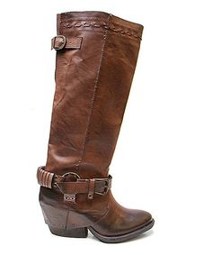 Love this Brown Twisted Boot on #zulily! #zulilyfinds