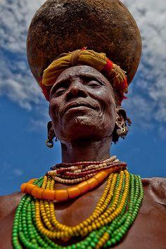 dassanech tribe woman . Omo Valley Ethiopia