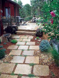 cut flagstone pavers - Google Search