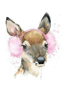 Картинки с животными, олень