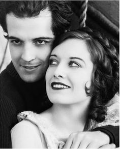 Ramon Novarro and Joan Crawford