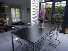Ikea Torsby dining table with Tobias chairs