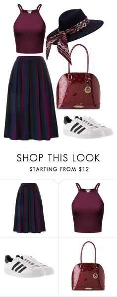 """""""Untitled #502"""" by farrahaqs ❤ liked on Polyvore featuring Yves Saint Laurent, adidas and Versace 19•69"""