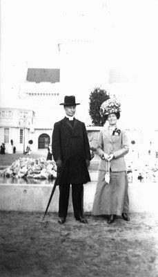 Ewan & Lucy Maud Montgomery in Scotland on honeymoon, 1911. Glasgow ...The Macdonalds had three sons, the second of whom was stillborn.